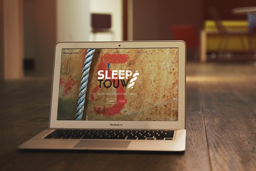 Website Sleeptouw Festival
