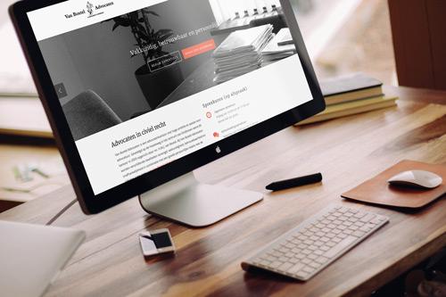 Website Van Boxtel Advocaten
